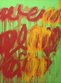 Cy Twombly: Ohne Titel (Camino Real) II, 2011 © starkandart.com