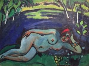 Max Pechstein - Früher Morgen, 1911, Öl auf Leinwand, Privatsammlung, Süddeutschland ©starkandart.com
