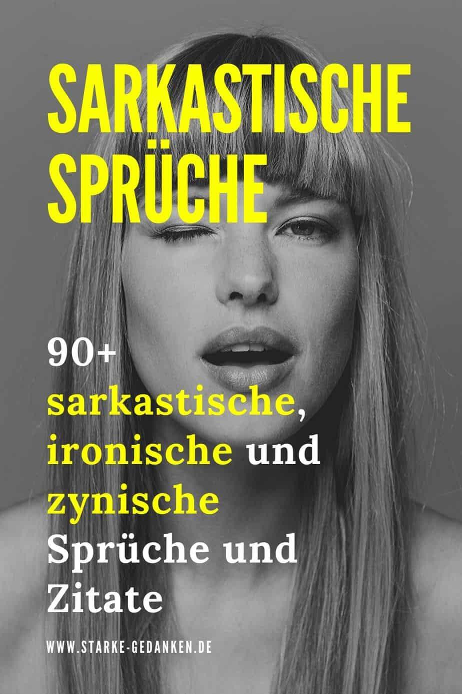 Sarkastische Spruche 90 Sarkastische Und Ironische Spruche Und