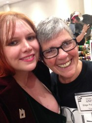 Anita Hades from Edge Publishing with Virginia Carraway Stark