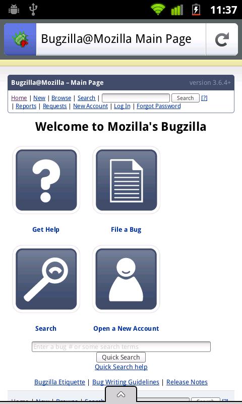 Firefox Mobile – Monitor HTTP Headers – stark raving finkle