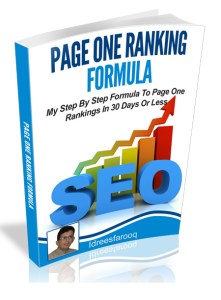 step by step formula to page one ranking, video marketing