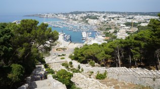 The town of Leuca, where The Ionian and Adriatic Seas meet.