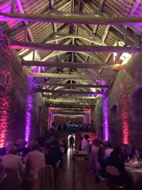Lanniron quimper led projecteur mariage chateau starlight