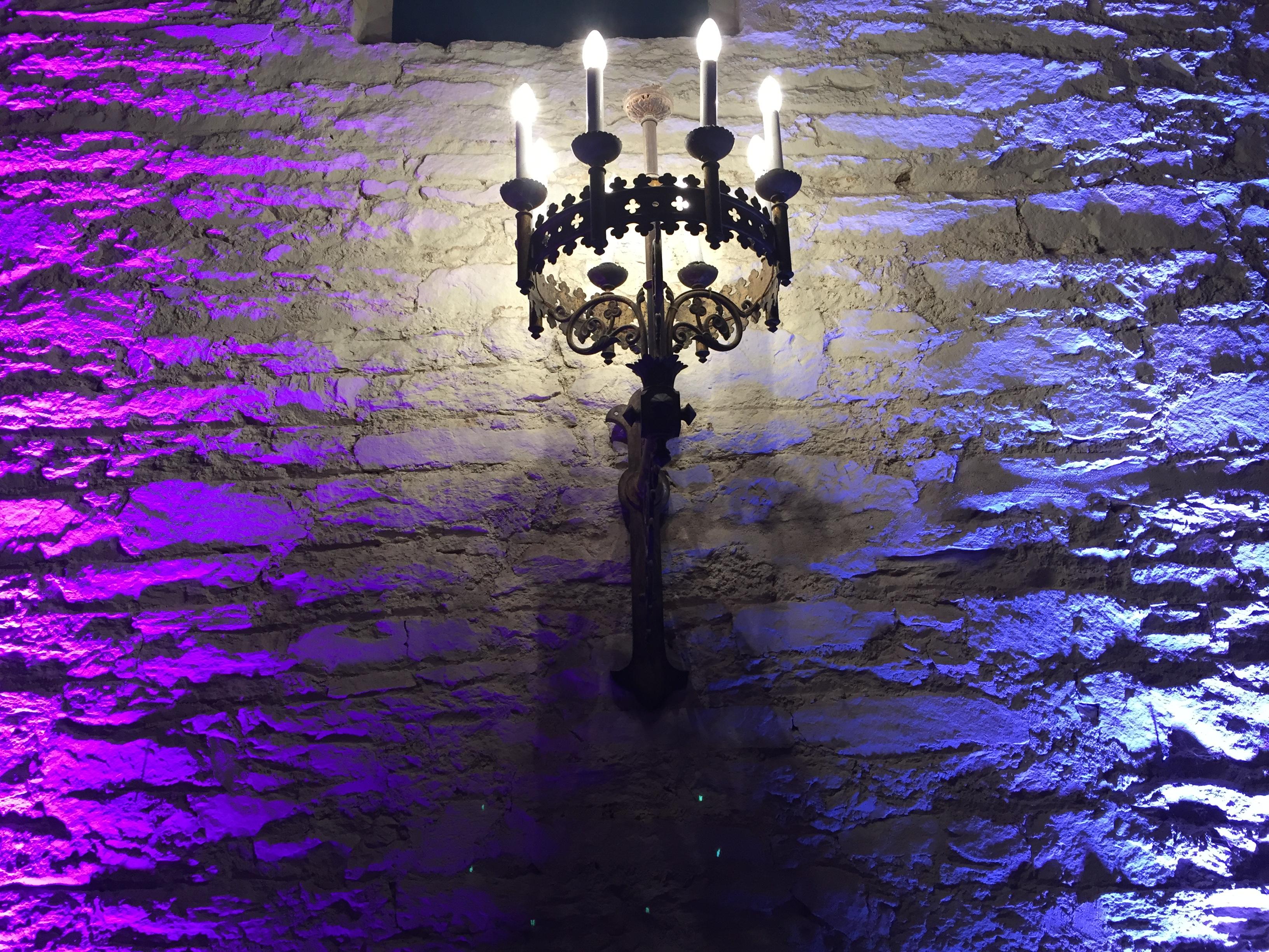 Chateau de Keriolet Concarneau Mur Led