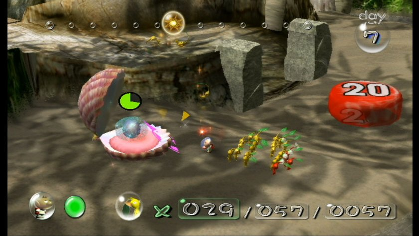 Other delightfully reassuring colours in Pikmin include 'antique sorbet' and 'Elizabeth'.