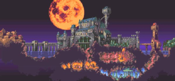 Castlevania Dracula X Map FEATURED