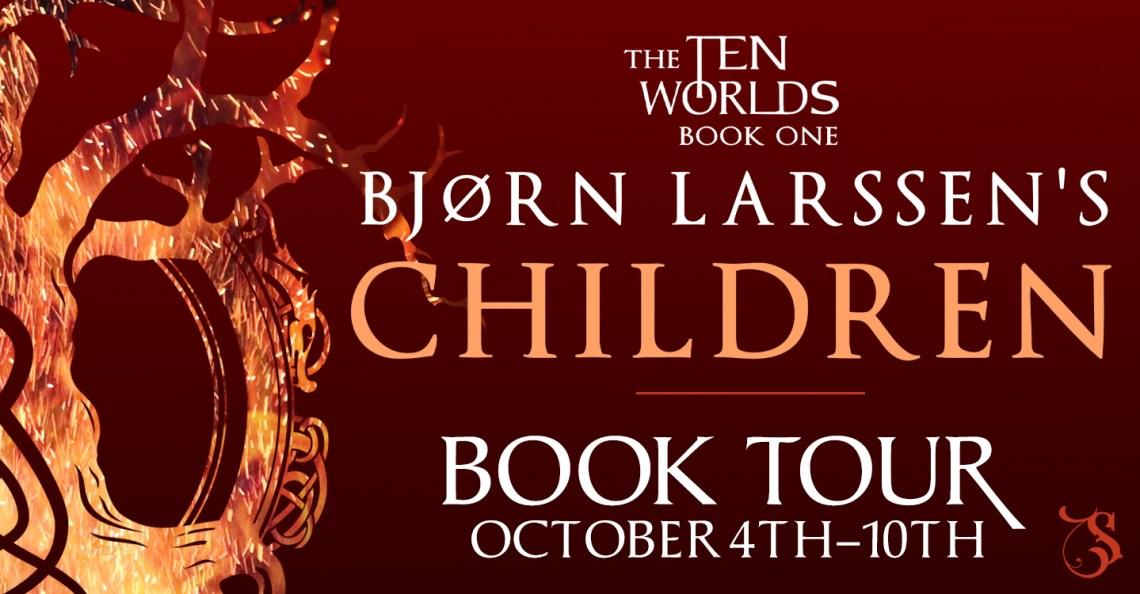 Children by Bjorn Larssen tour banner
