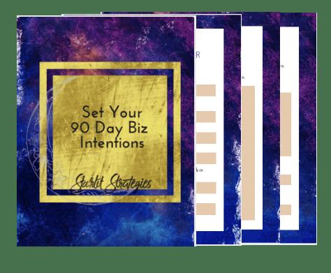 90 Day Biz Intentions Workbook