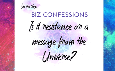Biz Confession: Resistance or a hell no?