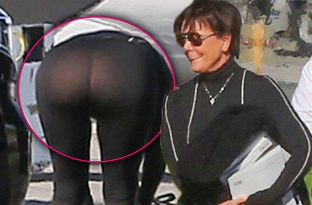 Kris Kardashian Ass 4