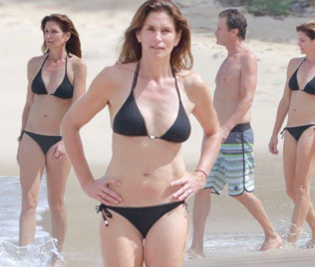 Cindy Crawford Bikini Body 50th Birthday