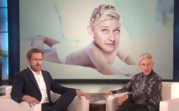 Ryan Gosling Shows Ell...