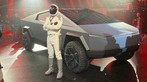 Tesla Starman Cybertruck