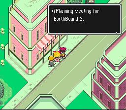 Image result for fourside earthbound developers sign