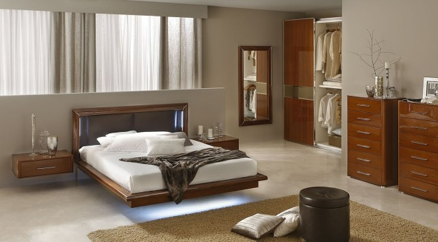 Sky Modern Italian Bedroom set - N - Contemporary ...