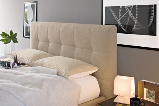 Swami Fabric Bed Modern Bedroom Star Modern Furniture