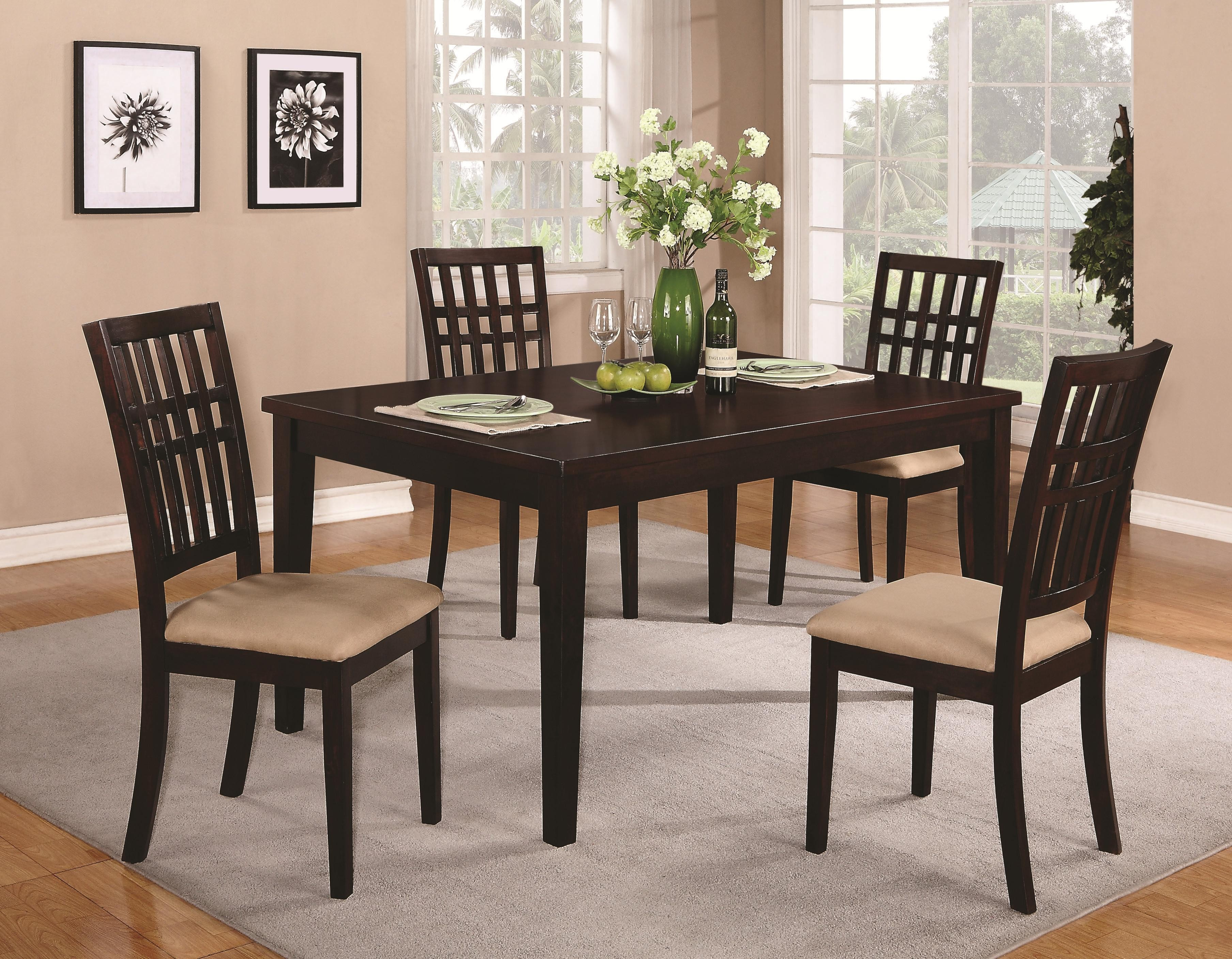 Casual Dining Table CO 103341 Contemporary Dining