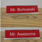 Signage - Custom 2 Sided Name Plate