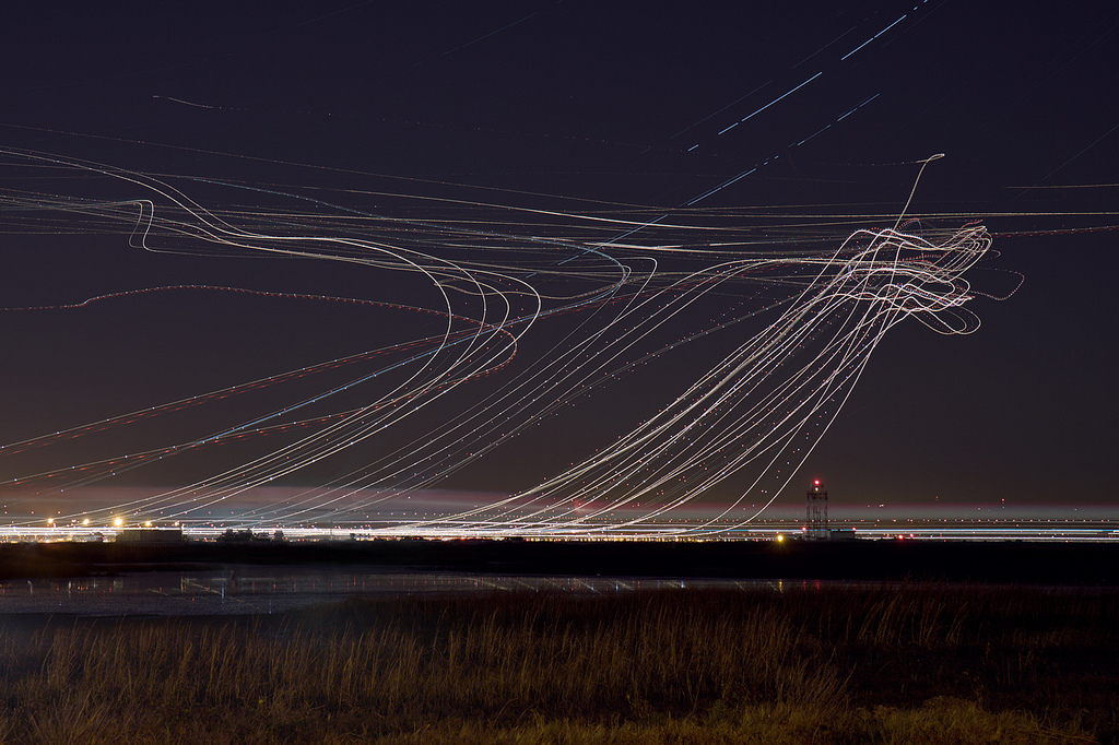 Amazing Long Exposure Airplane Photography