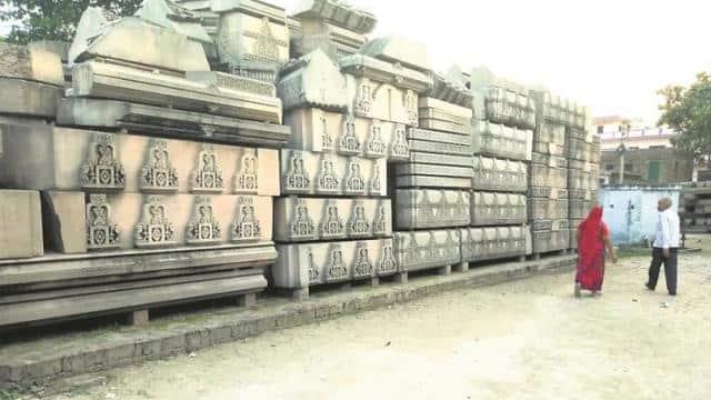अयोध्या : राम मंदिर के 1200 खम्भों का निर्माण 4 से 5 महीनों में होगा