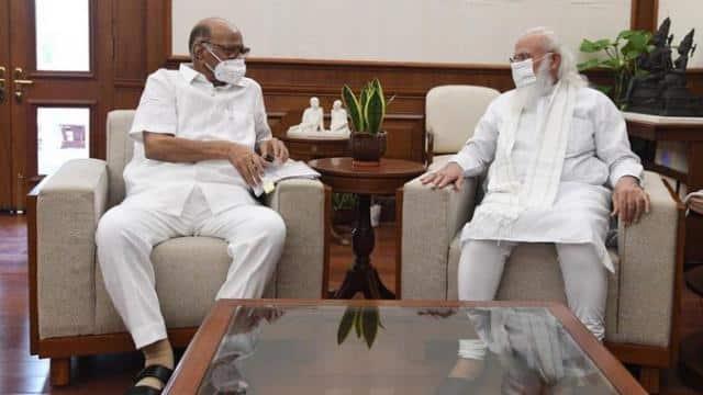PM मोदी से मिले NCP चीफ शरद पवार, करीब 1 घंटे तक चली मुलाकात, सियासी अटकलों का बाजार फिर गर्म