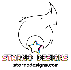 Starno Designs Logo Pride 2021