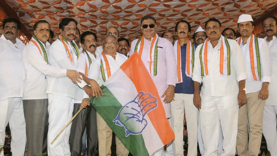 Murthy takes over as new City Congress President