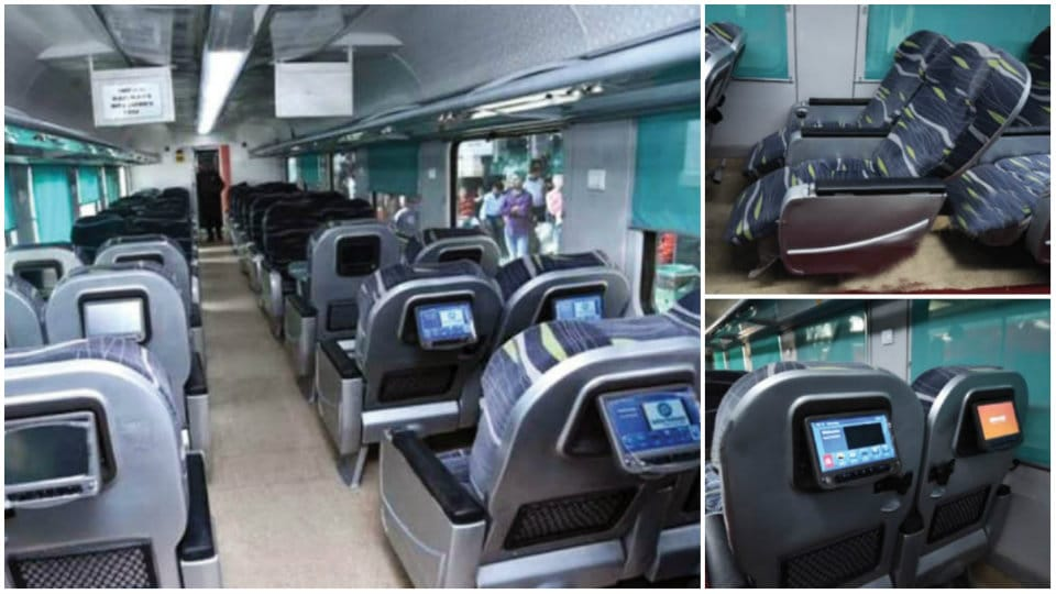 Railways' Sankranti gift to Mysureans: Now, Shatabdi passengers can travel in aircraft-like 'Anubhuti' coach