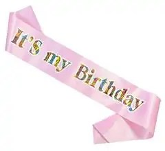 Lint Its my birthday