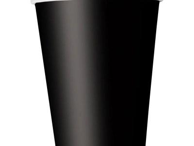Papist joogitopsid mustad 8tk, 270ml