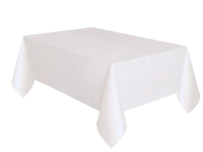 Plastikust laudlina valge 1,37*2,74m