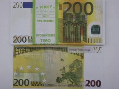 Raha 200eurosed