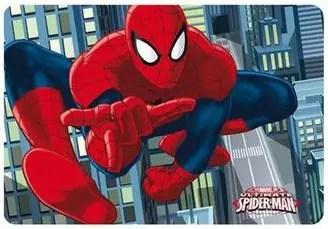 3D efektiga lauamatt Spiderman