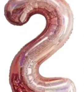 Õhupall roosa glitter 2    100cm