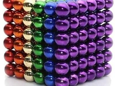 Arendavad magnetid 216tk värvilised(5mm)