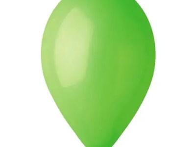 Kummist õhupall roheline (12) 30cm