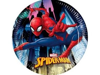 Papptaldrik spiderman 19,5 cm /8 tk