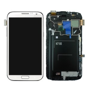 Genuine Samsung Galaxy Note 2 White LCD Screen
