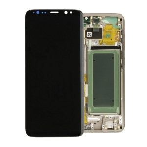 Samsung Galaxy S8 Gold  LCD Screen