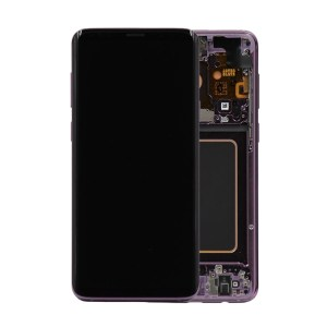 SAMSUNG GALAXY S9 LCD DISPLAY ASSEMBLY LILAC PURPLE