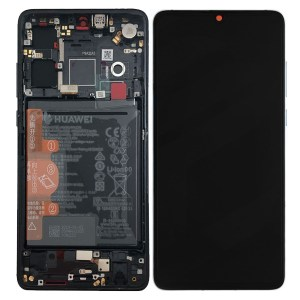 HUAWEI P30 LCD DISPLAY ASSEMBLY BLACK
