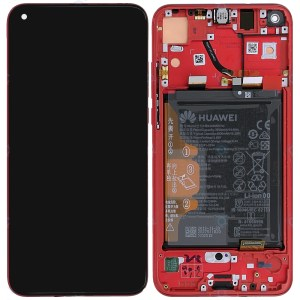 Huawei Honor View 20 Lcd Screen Display Red