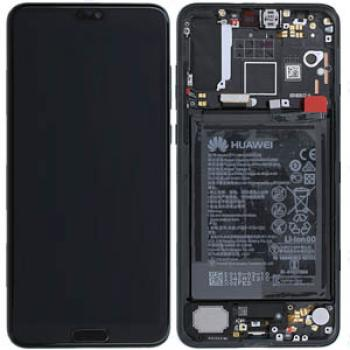 Huawei P20 Pro LCD Screen Complete With Frame Assembly Unit Black