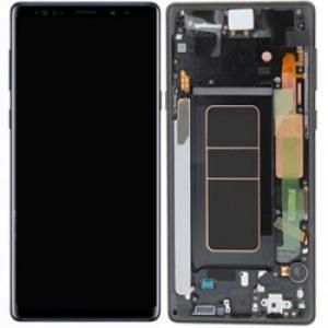 Samsung Galaxy Note 9 LCD Screen Complete With Frame Assembly Black