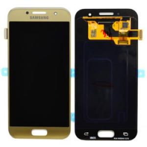 Samsung Galaxy A3 Gold LCD Screen