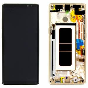 NOTE 8 LCD SCREEN GOLD