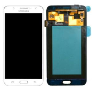 Samsung Galaxy J7 LCD Screen Complete With Frame Assembly Unit White