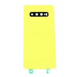 For Samsung Galaxy S10 Replacement Glass Battery Cover -Yellow