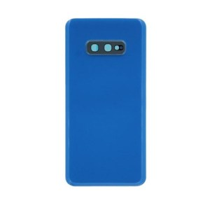 For Samsung Galaxy S10e Replacement Glass Battery Cover -Blue